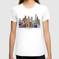 philadelphia T-shirts featuring Philadelphia city sklyine by bri.buckley