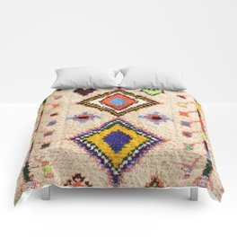 15 - Oriental Moroccan Traditional Colored Artwork. Comforters