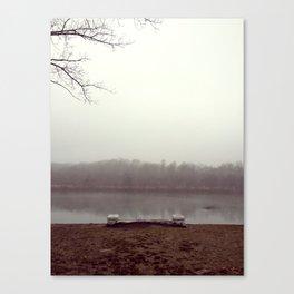 schuylkill sadness Canvas Print