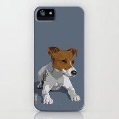 Jack Russell Terrier Dog iPhone (5, 5s) Slim Case