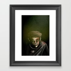 I will not give up, ever. Framed Art Print