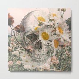 Among the Wildflowers Metal Print