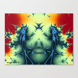 The Star-Crossed Lovers and The God Mind Canvas Print