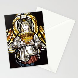 Angel & Holy crown Stationery Cards