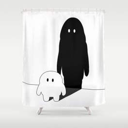 It's boo to you. Shower Curtain