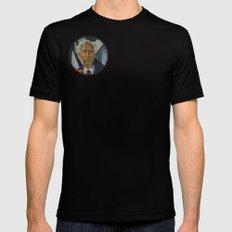 Bertrand Russell Mens Fitted Tee MEDIUM Black