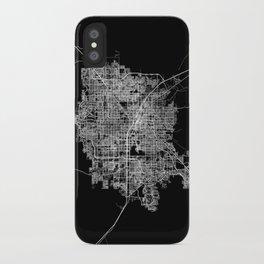 Las Vegas map iPhone Case