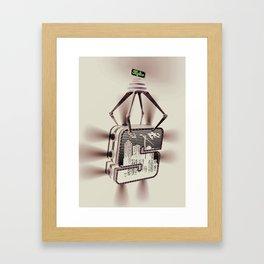 s_kyline Framed Art Print