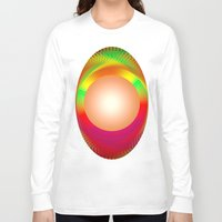 the shining Long Sleeve T-shirts featuring SHINING PEARL by Michelito