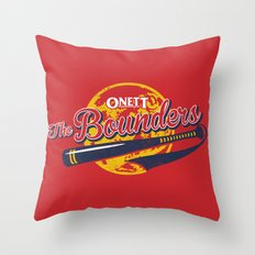 The Bounders Throw Pillow