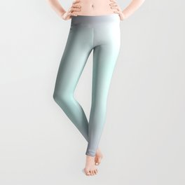 I Can & I Will Minimalist Modern Typography Quote & Dreamy Hope Abstract Soul Background Leggings