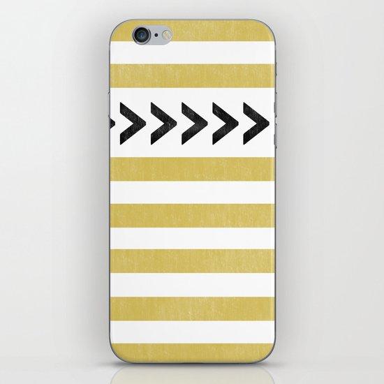 ARROW STRIPE {MUSTARD} iPhone & iPod Skin
