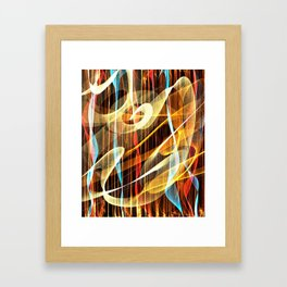 Footlights Framed Art Print