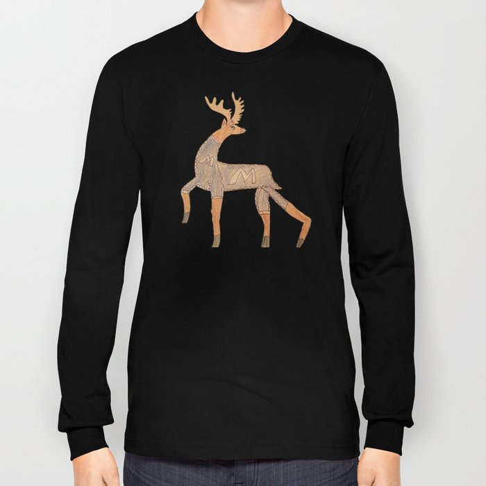 Reindeer on the Prowl Long Sleeve T-shirt