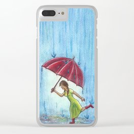 Caught in the Storm Clear iPhone Case