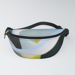 White Cala Lily Fanny Pack