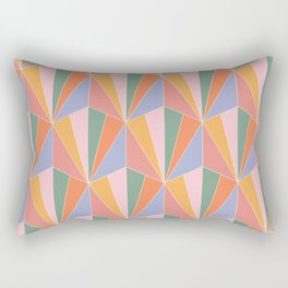 Gisela Color Block Pattern I Rectangular Pillow