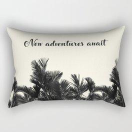 Adventues Await Rectangular Pillow