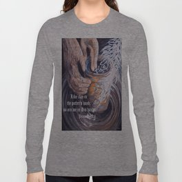 In the Potter's Hands with Scripture Long Sleeve T-shirt