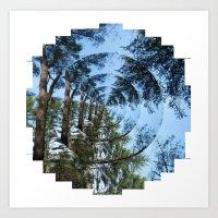 Trust In The Trees Art Print
