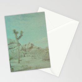 Joshua Tree on Color Implosion Film Stationery Cards