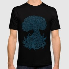 Yggdrasil Mens Fitted Tee MEDIUM Black