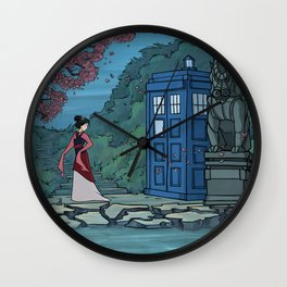 Cannot Hide Who I am Inside Wall Clock
