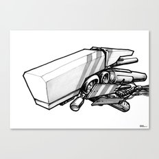 Machine object III Canvas Print