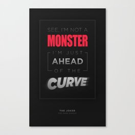 Ahead of the Curve Canvas Print
