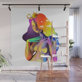 Queen of Sun and Moon Wall Mural