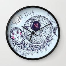 SILENT DISCO Wall Clock