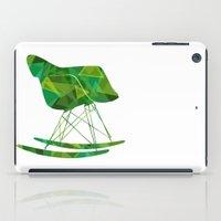 eames iPad Cases featuring Eames Rocker by Melissa Nocero