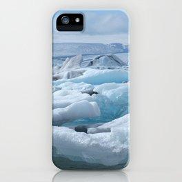Jökulsarlon Iceland iPhone Case