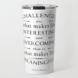 Challenges  Travel Mug