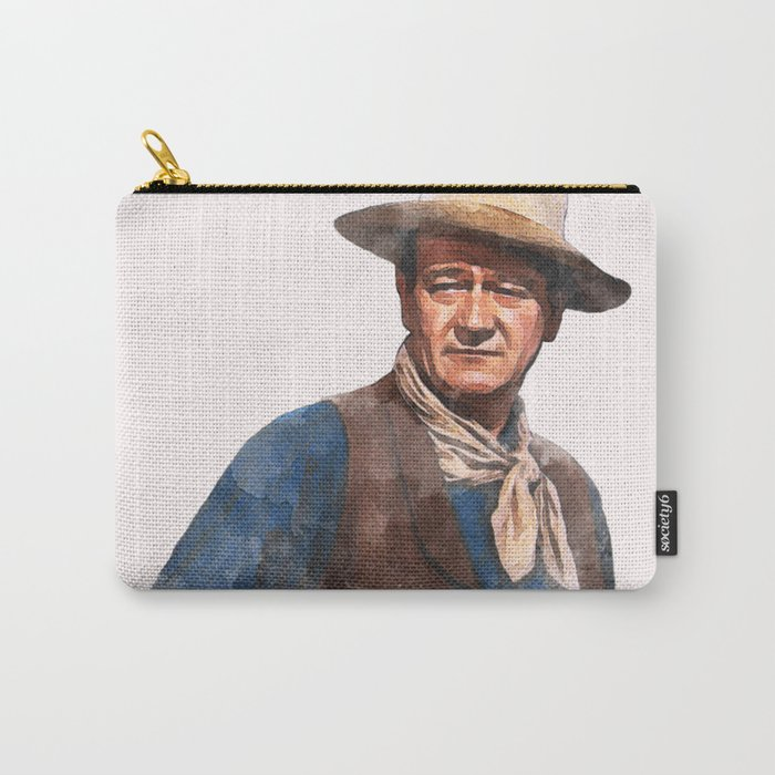 John Wayne - The Duke - Watercolor Tasche