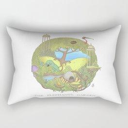 The Elephant's Garden - Version 1 Rectangular Pillow