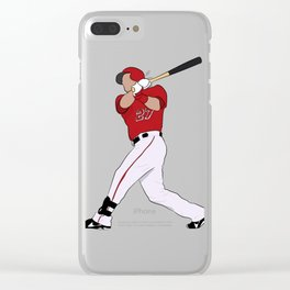 Mike Trout Clear iPhone Case