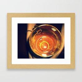 Oh Beer // O Birra Framed Art Print