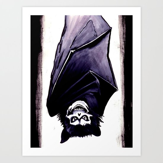 This Side Up Art Print