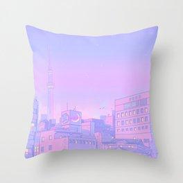 Sailor City Throw Pillow