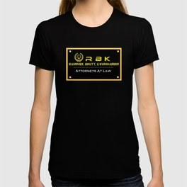 Funny Law Firm Name Logo T-shirt