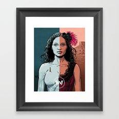 WEST 3 Framed Art Print