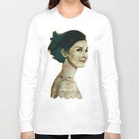 concrete Long Sleeve T-shirts featuring Concrete Butterflies by ARJr