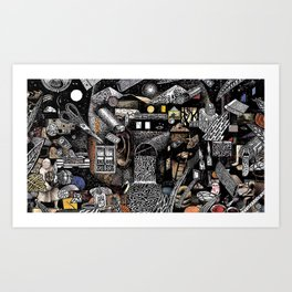 Paper Trail (Still Frame 4) Art Print