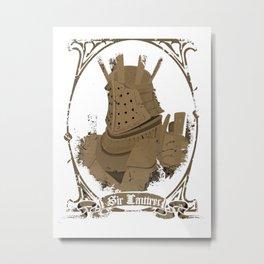 Sir Lautrer Metal Print