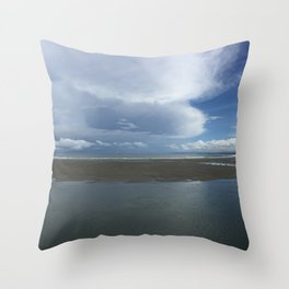 Tranquility in Panajachel Throw Pillow
