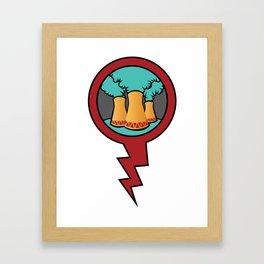 Reactor 011 Framed Art Print