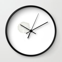 Dandelion Shirt Music Note Shirt Music Lover Wall Clock