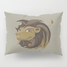 Leo (brown) Pillow Sham
