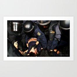 Revolution - Madrid 2 Art Print